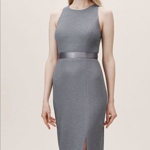 Adrianna Papell Idris Dress- Grey